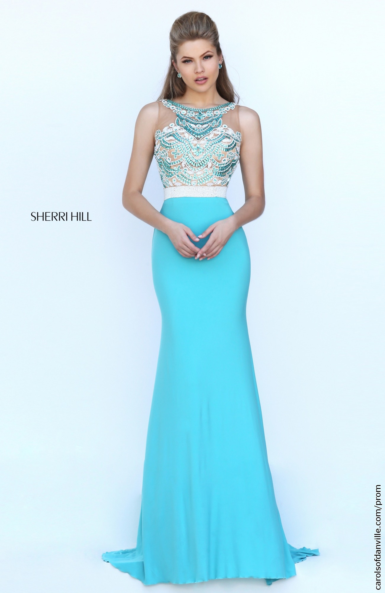 Sherri hill prom dresses 2014 blue